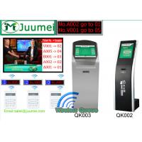 Buy cheap 17 19 22Wireless Q Management System Ticket Kiosk & Visitor Management Kiosk from wholesalers