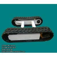Buy cheap Hydraulic rubber crawler track undercarriage from wholesalers