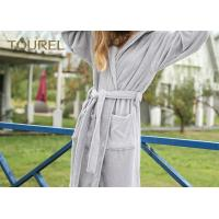 Buy cheap Extrem Soft Polar Coral Fleece Hotel Quality Bathrobes For Men And Woman from wholesalers