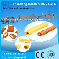 Buy cheap Core filling snack processing machine / cream snack making machine from Wholesalers