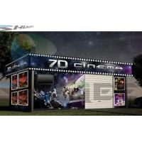 Buy cheap 7D Cinema System, Simulation Theater With Snow, Rain, Smoke Special Effects Equipment product