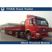Buy cheap 18 Wheeler Flatbed Semi Trailer from wholesalers