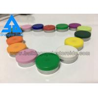 Buy cheap Customized Tops Custom Vial Labels White Green Blue Caps Enterprise Standard product