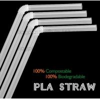Buy cheap PLA straw biodegradable strawCorn starch 100% biodegradable non plastic drinking straw PLA straws, from wholesalers