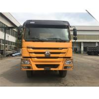 Buy cheap 336/371hp Howo 6x4 Dump Truck , 41-50 Ton Sand Tipper Truck 3800+1400mm Wheel Base: from wholesalers