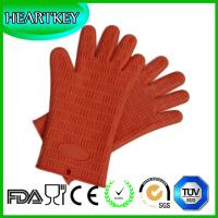 Buy cheap Silicone Pot Holders Heat Resistant Silicone BBQ Oven Grill Gloves from wholesalers