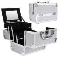 Buy cheap Fine Designed Makeup Vanity Case Oxidized And Processed Precisely Surface Treatment from wholesalers