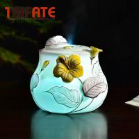 Buy cheap 100ML Ceramic Humidifier Ultrasonic Porcelain Aroma Diffuser With LED Light Essential Oil Diffuser Aromatherapy from wholesalers