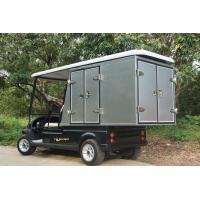Buy cheap Battery Powered Utility Golf Cart 48V With Aluminum Box , 5 Horsepower from wholesalers