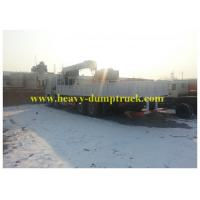 Buy cheap 12 Tons Mounted Crane Truck  336 hp in WD 615 Engine 90km/h / 102km/h from wholesalers