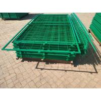 Buy cheap 50*150mm Hole Pvc Coated Frame Welded Wire  Mesh Fence for Warehouse from wholesalers