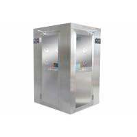 Buy cheap CE L Type Corner 30m/S Cleanroom Air Shower For Cleanroom Area product