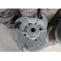 Buy cheap Coated / Zinc Plated Centrifugal Pump Impeller With Duplex Stainless Steel from wholesalers
