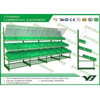 Buy cheap Large stable and durable Steel Supermarket Fruit Vegetable Display Rack heavy duty from wholesalers