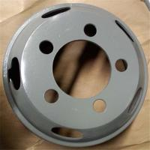 Buy cheap color steel car wheel rim 6.00-16 from wholesalers