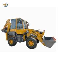Buy cheap 4WD amphibious backhoe used for agricultural and construction deluxe retroexcavadora from wholesalers