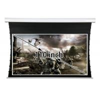 Buy cheap Quiet Working 110 Inch Tensioned Projection Screen , 4 3 Projection Screen Home Theater Room from wholesalers