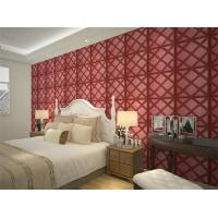 Buy cheap Leather Home Decor Wallpapers Home Decoration Accessories , Customized 3D Wall from wholesalers