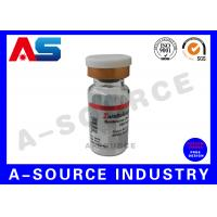 Buy cheap 2ml Sterile Injection Hologram Steroid Bottle Labels  Rainbow Color from wholesalers