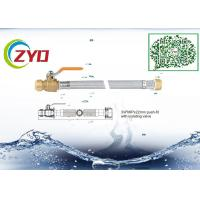 Buy cheap Silver Color Faucet Braided Hose With Push Fit Isolating Valve Eco Friengly from wholesalers