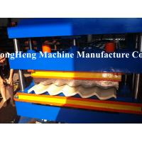 Buy cheap Corrugated Color Steel Frame Roll Forming Machine 0.8mm Tile Making Machine from wholesalers