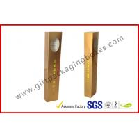 Buy cheap Long Incense Gold Gift Card Board Packaging Window For Incense Packet from wholesalers