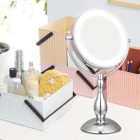 Buy cheap Makeup Light Up Magnifying Vanity Mirror Use Both Battery And Adapter from wholesalers
