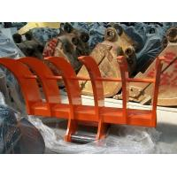 Buy cheap Durable Strong Excavator Tilt Bucket Excavator Land Clearing Rakes Long Using Life from wholesalers