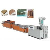 Buy cheap Popular Easy Operated WPC Profile Extrusion Line Low Energy Consumption from wholesalers