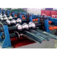 Buy cheap Expressway Highway Guardrail Forming MachinePillar Guide Cutting 2-3m/ Min from wholesalers