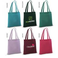 Buy cheap Colored Cotton Tote, Colored Cotton Cinch Bag Black Cotton Shopper,Book Bag,Craft Tote,Eco-friendly Bag,Giveaway Bag,Swa product