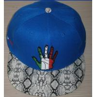 Buy cheap fashional custom flat brim hat from wholesalers