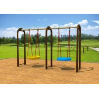 Buy cheap 1-2 People Sit Childrens Swing Set With Dissimilar Chair 2.5CBM Volume KP-G012 from wholesalers