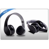 Buy cheap Stylish Wireless SD Card Headphone 10 meters with Mic for iPads / iPhone / iPod product