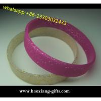 Buy cheap fashion silicone bracelet/wristband Colorful 100% Silicone led light from wholesalers
