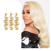 Buy cheap 613 Blonde Body Wave Bundles / Natural Wave Hair Extensions Hair Malaysian from wholesalers