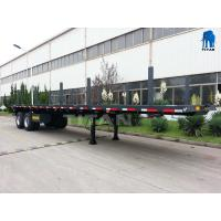 Buy cheap 2 axle 20ft container semi truck trailer | TITAN from wholesalers