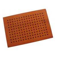 Quality Decorative Studio Room Perforated Wood Acoustic Panels , Sound Absorbing Board for sale