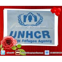 Buy cheap Refugee relief tent tarps,PE shelter tent,UN Refugee agent PE tent tarpaulin from wholesalers