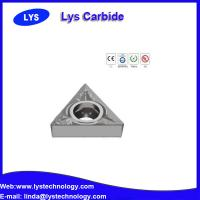 Buy cheap carbide cutter inserts, carbide turning insert with high feed TNMG, TNMM,TNMA,VBMT,VBGT,VBET from wholesalers