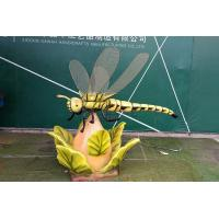 Buy cheap Children Playground Realistic Animatronic Dragonfly Model High Durability from wholesalers