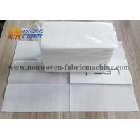 Buy cheap Decorative Linen Like Paper Dinner Napkins Disposable Fluff Pulp Material from wholesalers
