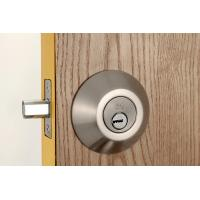 Buy cheap Stainless Steel Metal Sliding Door Locks Single Cylinder Deadbolt 3 Same Brass Keys from wholesalers