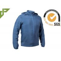 Buy cheap Blue Military Tactical Jackets Sun Protective 100% Cotton With Adjustable Cuff from wholesalers