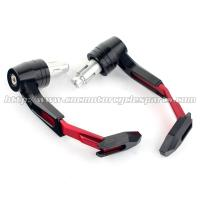 Buy cheap CNC Cut Clutch Lever Guard Motorcycle Spare Parts , Light Weight Motorcycle Hand Protectors from wholesalers