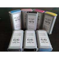 Buy cheap HP z2100 5200 Pigment Ink Cartridges 70# 72# With 130ml , Empty from wholesalers