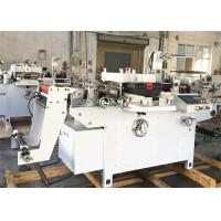 Buy cheap Polyester Film Label Die Cutting Machine Single Phase Inverter Control Main Motor from wholesalers