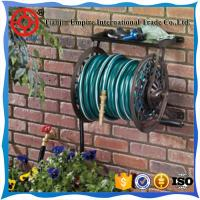 Buy cheap steel garden hose reel cart expandable water hose  nozzle garden hose from wholesalers