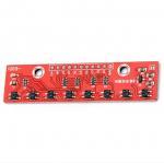 Buy cheap 8 Channel Line Detection Arduino Sensor Module IR Photoelectric Sensor from wholesalers