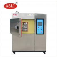 Buy cheap Three And Two Zone Thermal Shock Cycle Test Chamber Hot Cold Impact Testing Machine from wholesalers